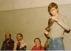 1981 -clubkampioen gerald breugem in 1981 in de lozanje en wim arie christen en francien