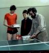 1984 Oud -team steven dirker en een ander taarten