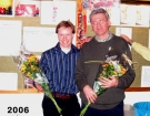 2006 Combat senioren team 2, vlnr Ronald de Gier, Hans v.d. Vorm
