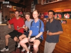 2008 Team 1 kampioen 1e klasse, Arjan, Maurice, Harmen, Vincent