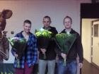 2009 Team 1 kampioen 1e klasse, Maurice, Arjan, Harmen